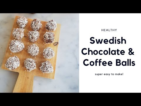 Swedish Chocolate & Coffee Balls