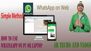 Use WhatsApp on your PC|Laptop|WhatsApp web|How to Use it