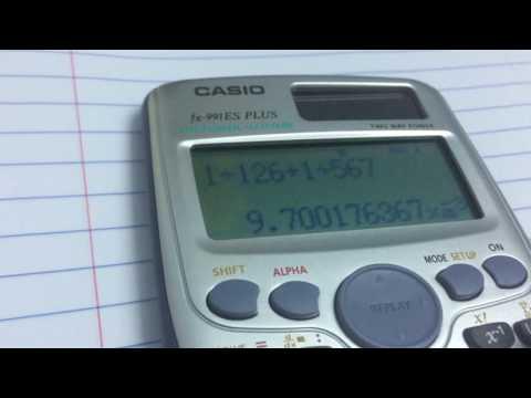 Calculating LCM and GCF using Casio Scientific calculator