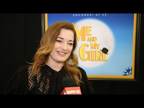 Laura Michelle Kelly and Christian Borle Reunite in ME AND MY GIRL at Encores!