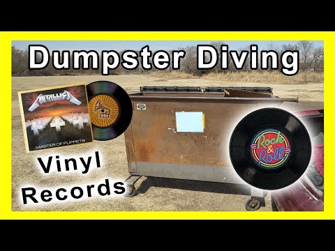 Dumpster Diving at Thrift Store #126 Vintage Vinyl Records