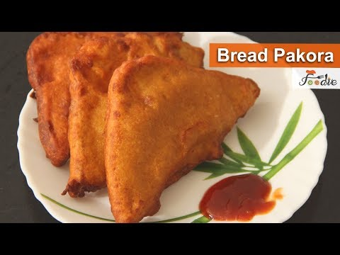Bread pakora recipe| How to make bread pakora at home |Easy bread snacks |Evening for snacks| Foodie