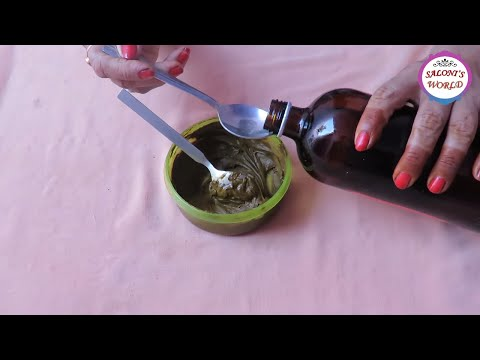 How To Make Henna/Mehndi Paste for Dark Red Stain With Tips & Tricks by Jyoti Sachdeva