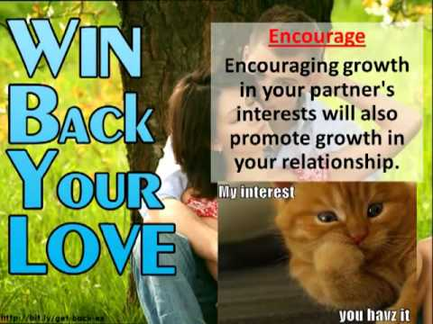 Win Back Your Love & Save Your Relationship Today