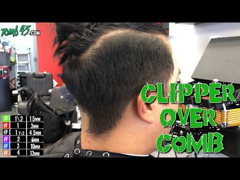 Barber Tutorial | Clipper over comb fade to bulk