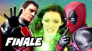 Marvel The Gifted Episode 13 Finale - Deadpool and Dark Phoenix Easter Eggs