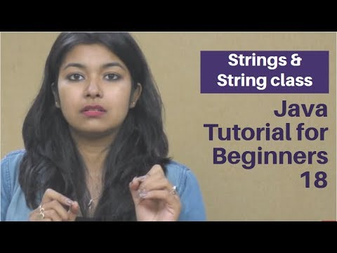 Strings & String class | Java Tutorial for Beginners 18 | TalentSprint