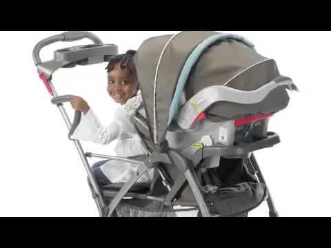 Metropolis - Graco RoomFor2 Stand and Ride Classic Connect Double Stroller