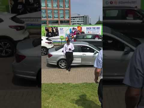 Taxi drivers clash with uber in coventry