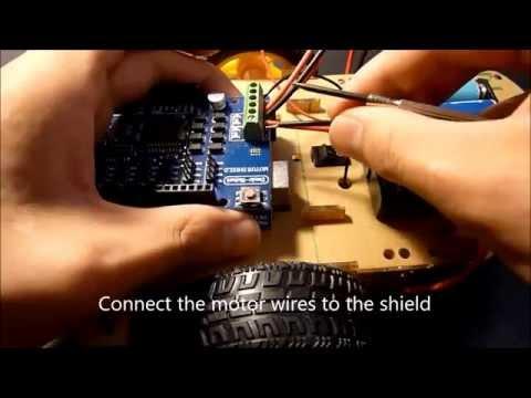 Arduino IR Remote Control Car