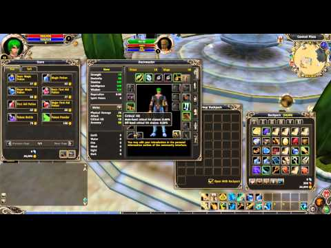 How to Repair all of Your Equipped Armor and Weapons in Runes of Magic (Tutorial)