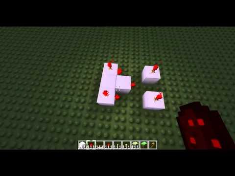 Minecraft Logic Gates 6 - XNOR Gate [Tutorial]