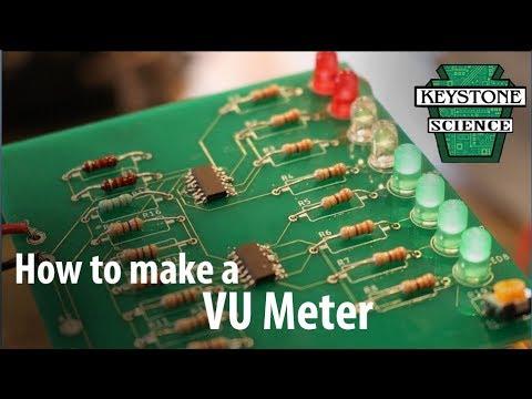 How to make a VU meter