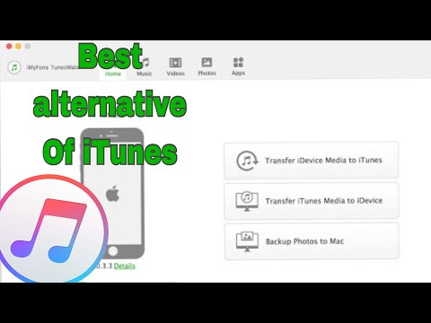 iMyFone TunesMate Best recovery & Alternative of iTunes for iOS