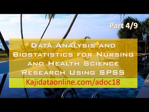 4. Calculating the mean mode median using SPSS and manual (Part 4/9)