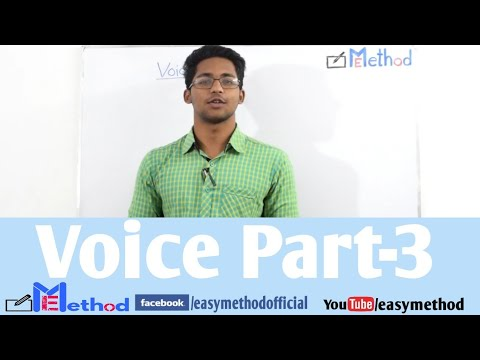 Changing Voice| Part-3|English-2|Class 11-12