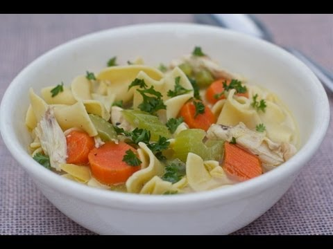 Homemade Chicken Noodle Soup Recipe (Mama's Cold Medicine)