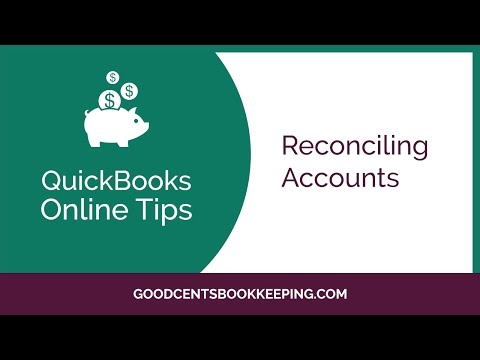 How to Reconcile your Bank Accounts in QuickBooks Online 2017 - Free Quickbooks Training Video