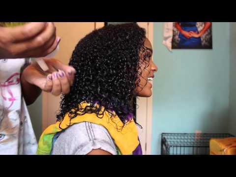 How to Define: Heat Damaged Curls !!