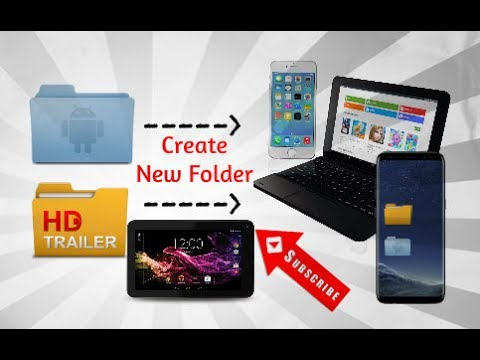 How To Create New Folder In Your RCA Tablet | Any Device