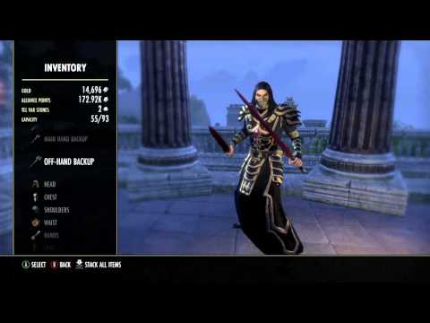 ESO Xbox: How To Make Your Own PvP Build (Basic)