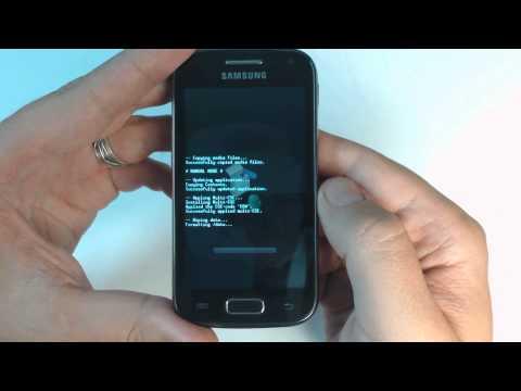 zrzut ekranu w samsung galaxy ace 2