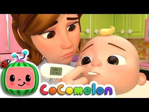 Sick Song | ABCkidTV Nursery Rhymes & Kids Songs