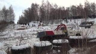 Автокросс в Семено-Оленинском 25_12_2011 - заезд ГАЗ-53