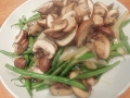 S1Ep11-Stir Fry String Beans with Mushrooms and Onions