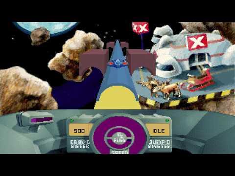DOS Game: SkyRoads - Xmas Special