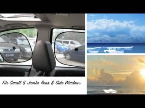 Car Sun Shade- Best Easy Twist Folding Windshield Sun Shade,Keeps Interior Cooler