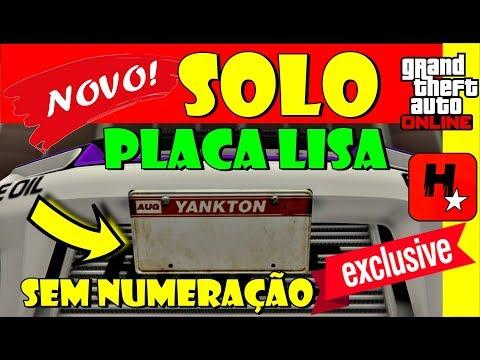 GTA 5 Money Glitch SOLO Duplicar Carros➕Glitch Fazer Placa Lisa Sem Numeração✅Dinheiro Infinito