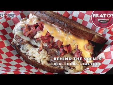 St. Paddy's Reuben Burger