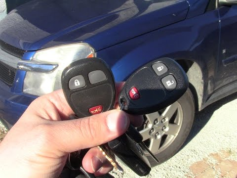 How to Program Remote Key Transmitters on Chevy Equinox