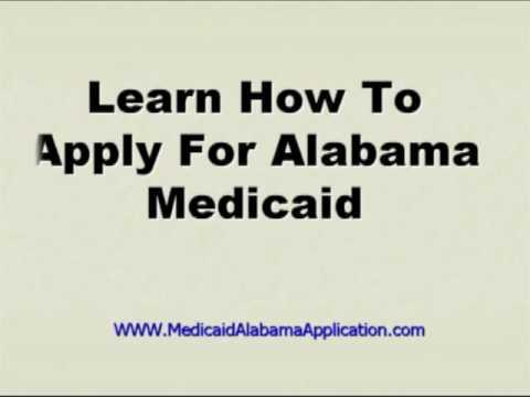 Medicaid Alabama Application