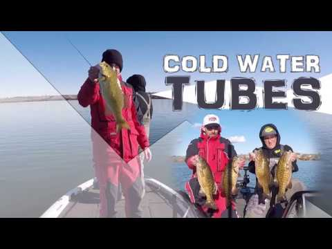 Cold Water Bass Fishing with Tubes