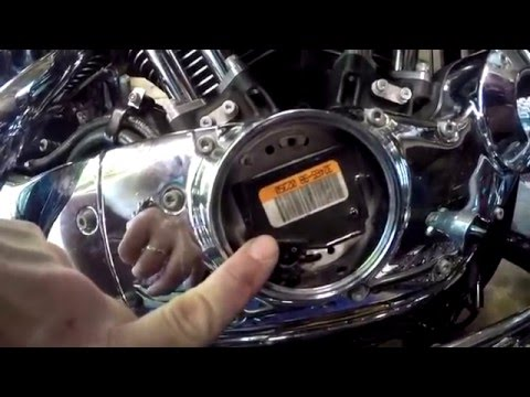 2003 Harley Sportster  Ignition module Replacement