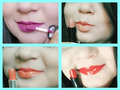Top 5 Lipsticks under Rs.500   Indian Skin Tone   Angels reborn