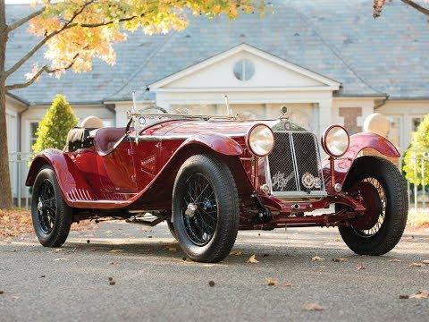 $2,420,000! 1931 Alfa Romeo 6C 1750 Gran Sport Spider by Zagato