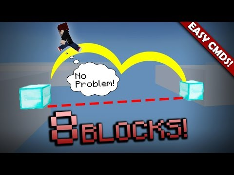 How To Double Jump with Command Blocks! - Minecraft PE