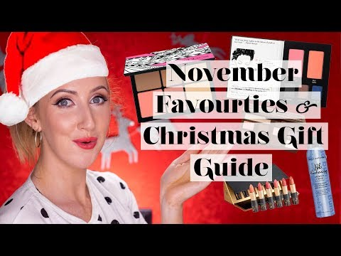 November Beauty Favorites CHRISTMAS GIFT GUIDE EDITION! | Sharon Farrell
