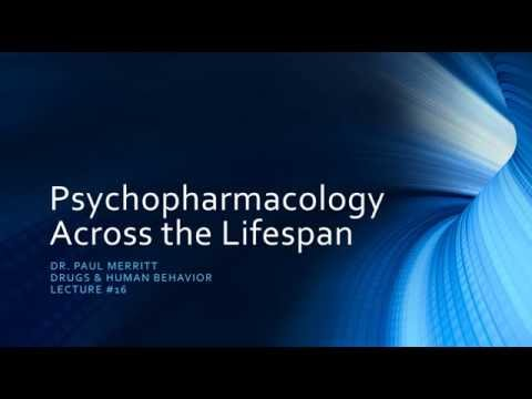 Geriatric Psychopharmacology