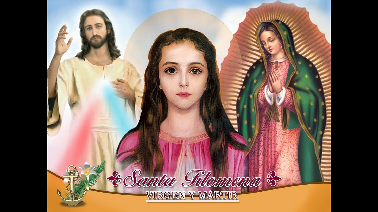Canto en honor a Santa Filomena