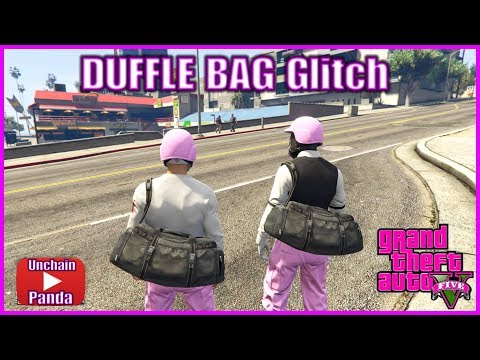 GTA 5 Online - How to get DUFFEL BAG Glitch *After Patch 1.40*