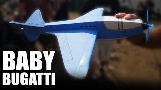 Fastest $1 Foamboard   BABY BUGATTI