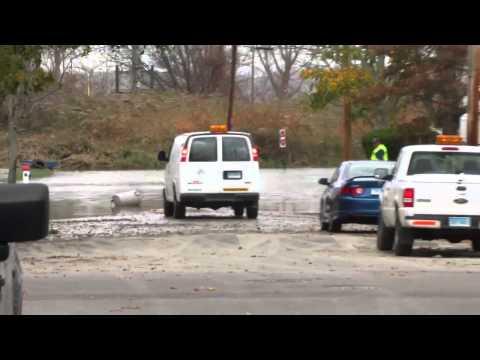 Hurricane Sandy after Storm West Haven Ct