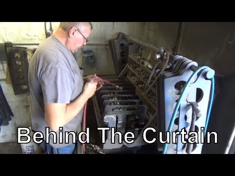 Clearwater Cylinder Head Behind The Curtain.