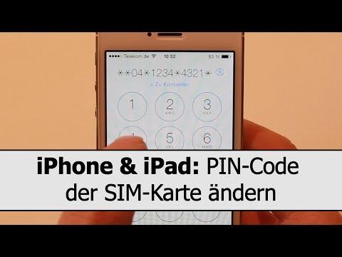iPhone SIM PIN ändern: PIN-Code der SIM-Karte ändern; per Einstellungen oder GSM-Code
