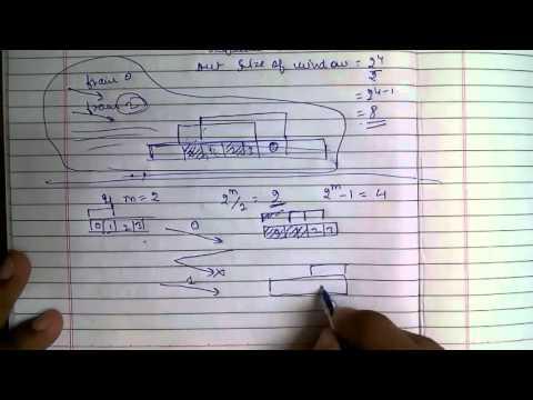 Noisy Channels : Selective ARQ Protocol