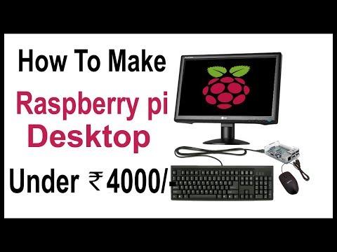 How to make a desktop computer using Raspberry Pi